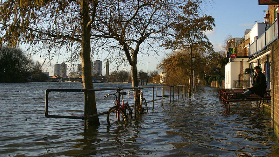 Report: Managing London's climate change risk