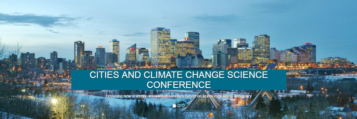 IPCC Cities Conference | 5-7.3.2018 @Edmonton, Canada